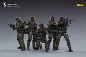 JoyToy Russian Naval Infantry 1/18 Scale Mechanical Collection Action Figure Robot Model Miniature