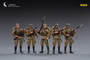 JoyToy WWII Soviet Infantry 1/18 Scale Mechanical Collection Action Figure Robot Model Miniature
