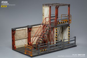 JoyToy Mecha Action Figure 30cm Watching Depot Scale 1/18 Diorama Model Miniature