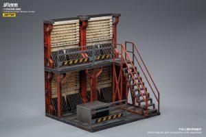 JoyToy Mecha Action Figure 30cm Weapon Amory Depot Scale 1/18 Diorama Model Miniature