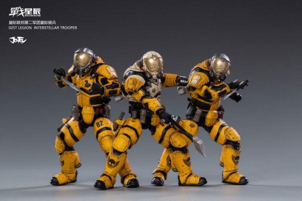 JoyToy 02st Legion Interstellar Trooper Action Figure Mechanical Collection Robot Miniature Model