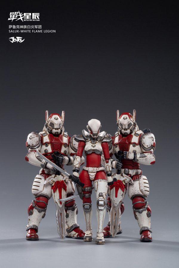 JoyToy Battle For The Stars White Flame Legion Saluk