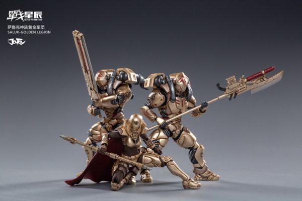 JoyToy Battle For The Stars Golden Legion Saluk