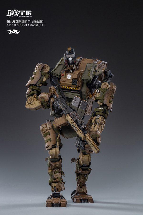 JoyToy Battle For The Stars 09st Legion FEAR (Assault) Scale 1/18 Squad Action Figure Mechanical Collection Robot Miniature Model