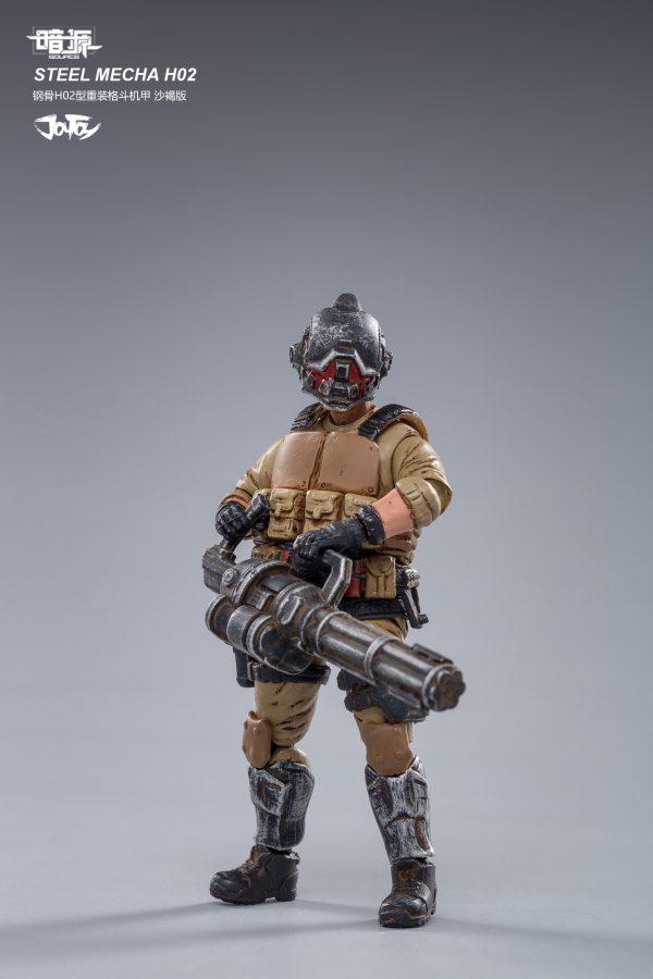 JoyToy Steel Mecha H02 Action Figure