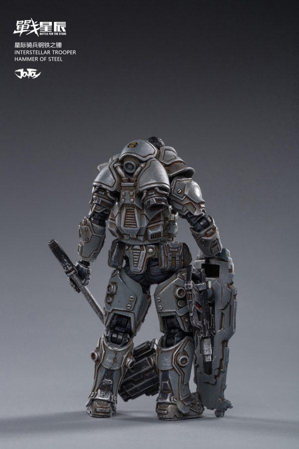 JoyToy Battle For The Stars Interstellar Trooper Hammer of Steel