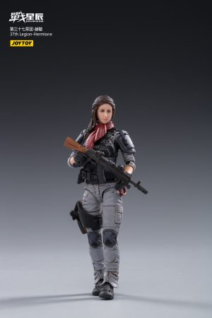 JoyToy Action Figure 10cm Scale 1/18 37th Legion Hermione Mechanical Collection Squad Troop Army Model Miniature