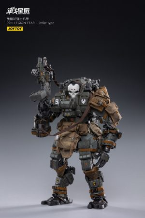 JoyToy Battle For The Stars 09th Legion FEAR II Mecha Strike Type Scale 1/18 Squad Action Figure Mechanical Collection Robot Miniature Model