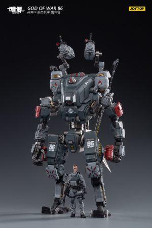JoyToy Action Figure Dark Source God Of War 86 – Grey with pilot