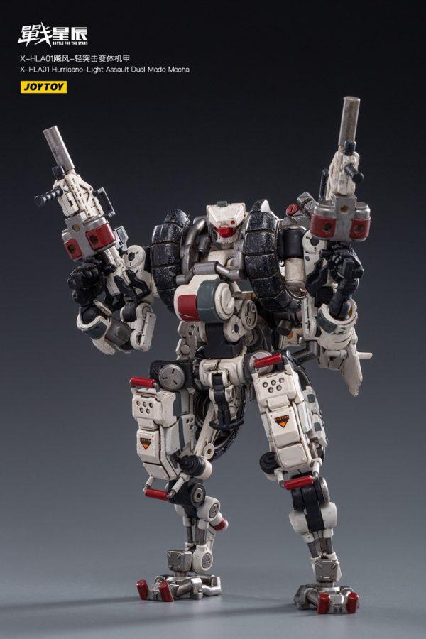 JoyToy Action Figure Battle for the Stars X-HLA01 Hurricane Light Assault Dual Mode - White