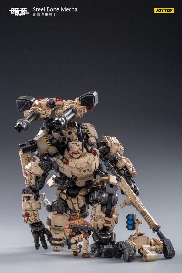 JoyToy Action Figure Dark Source Steel Bone Mecha - Sand