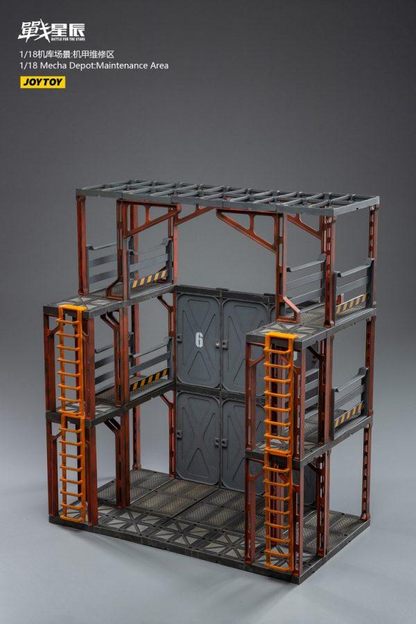 JoyToy Action Figure Battle for the Stars Depot Maintenance Area