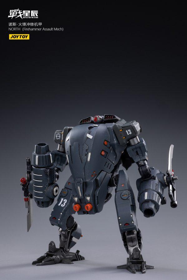 JoyToy Battle For The Stars NORTH Firehammer Assault Mech With Pilot