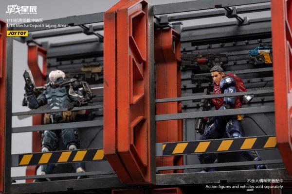 JoyToy Action Figure Battle for the Stars Depot Staging Area