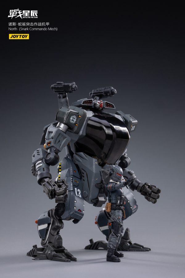 JoyToy Battle For The Stars NORTH Snark Commando Mech With Pilot