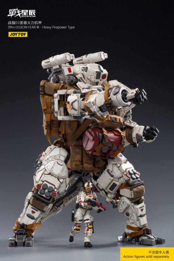 JoyToy Battle For The Stars 09th Legion FEAR III Mecha Strike Action Figure