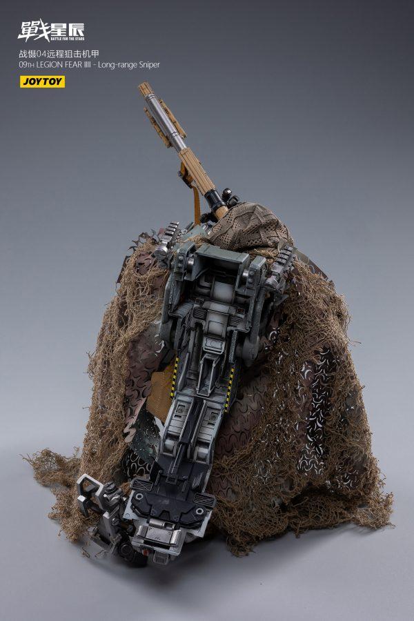 JoyToy Battle For The Stars 09th Legion FEAR IV Mecha Long Range Sniper Action Figure